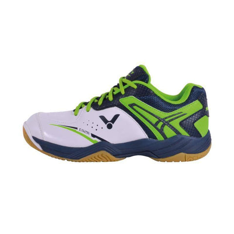 Victor A501 Mens Badminton Shoes (White-Green)
