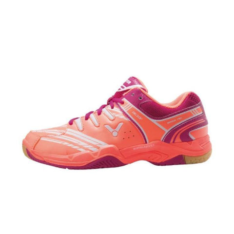 Victor A610F-ID Womens Badminton Shoes (Pink)