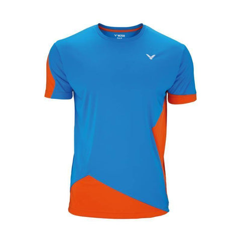 Victor Function 6108 Mens Badminton T-Shirt (Orange-Blue)