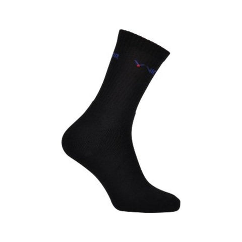 Victor Indoor Sport 3000 Badminton Socks - 3 Pair (Black)