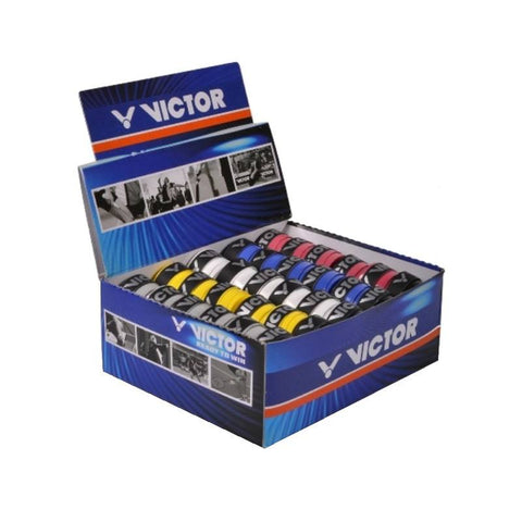 Victor Pro Badminton Overgrip Box - 60 pieces (Several colors)