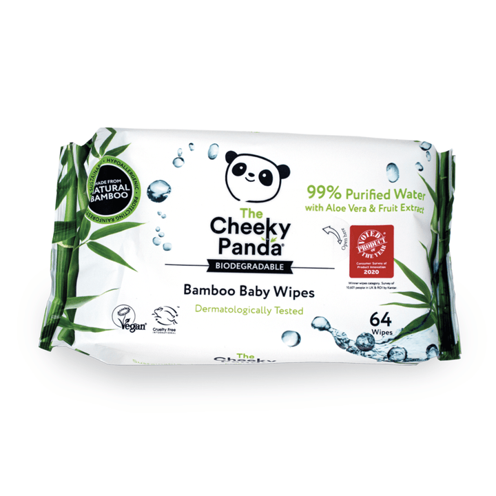 Baby Wet Wipes - The Cheeky Panda UK