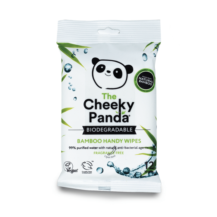 Handy Wipes Bulk Box | 72 Packs - The Cheeky Panda UK