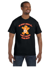 Load image into Gallery viewer, My Spirit Animal Is... I Don't Fucking Care Bear T-shirt