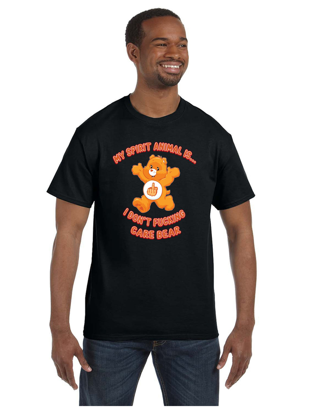 My Spirit Animal Is... I Don't Fucking Care Bear T-shirt