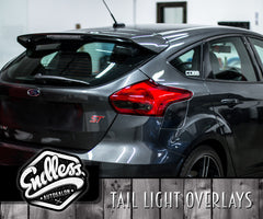 Ford Focus Tail Light Overlays