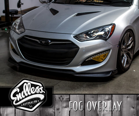 13-16 Hyundai Genesis Coupe Fog Light Overlay Kit