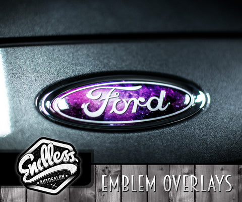 Ford Galaxy Emblem Overlays