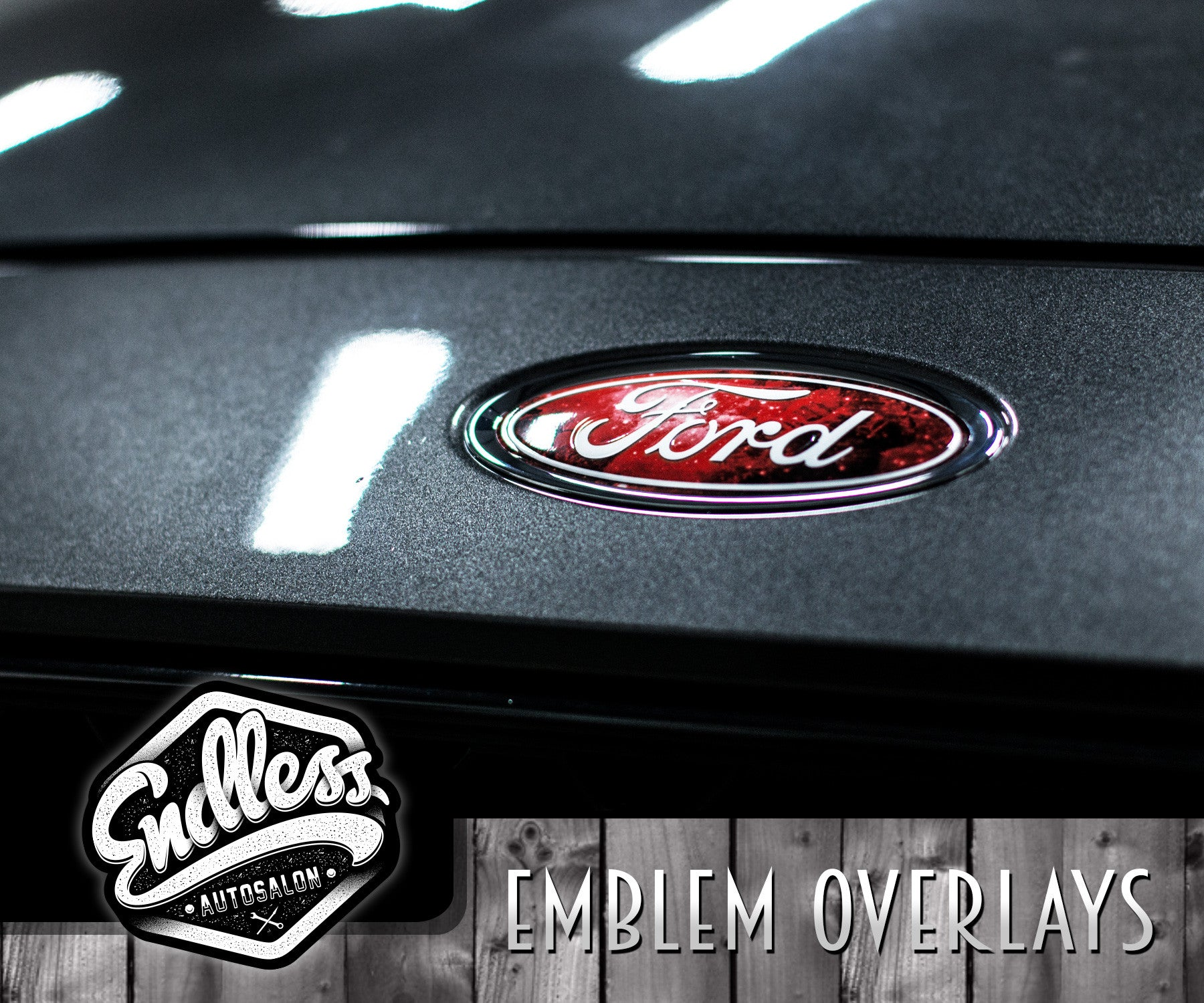ford galaxy emblem overlays endless autosalon