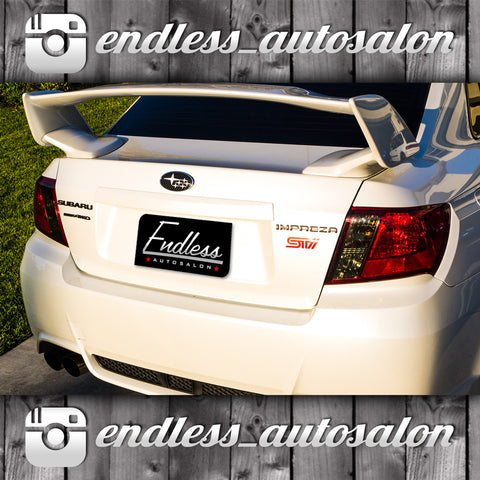 08-14 Subaru Impreza WRX / STi sedan tail light overlays