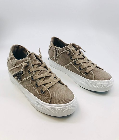 Taupe sneakers