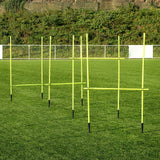 FORZA Adjustable Training Hurdles | PRO GRADE PVC AGILITY HURDLES [4ft/5ft]