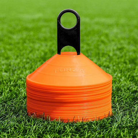 FORZA Training Cones [50qty] - RANGE OF COLOURS - Highest Quality Marker Cones