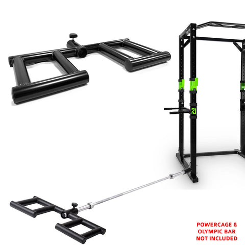 Viking Shoulder Press T Bar Row Handle Landmine Gym Attachment Grappler Olympic