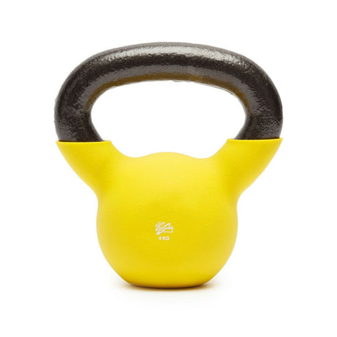 Neoprene Kettlebell Cast Iron Weights Home Gym Fitness Aerobic Exercise Iron