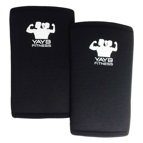YAYB Fitness Pro Strong Elbow Sleeves 7mm - Powerlifting - Strongman - Crossfit