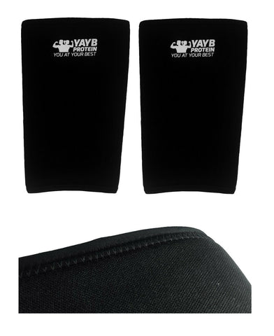YAYB 7mm Pro Strong Knee Sleeves - Powerlifting - Strongman - Crossfit