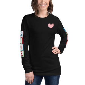 """GIVE LOVE"" LONG SLEEVE TEE"