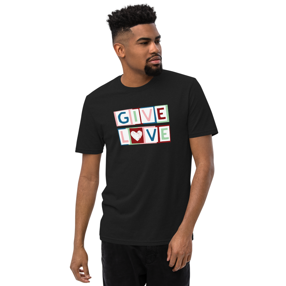 """GIVE LOVE"" RECYCLED TEE"