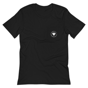 HEART CIRCLE POCKET TEE