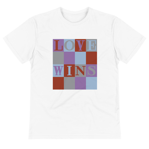 "COOL ""LOVE WINS"" BLOCK LETTERS"