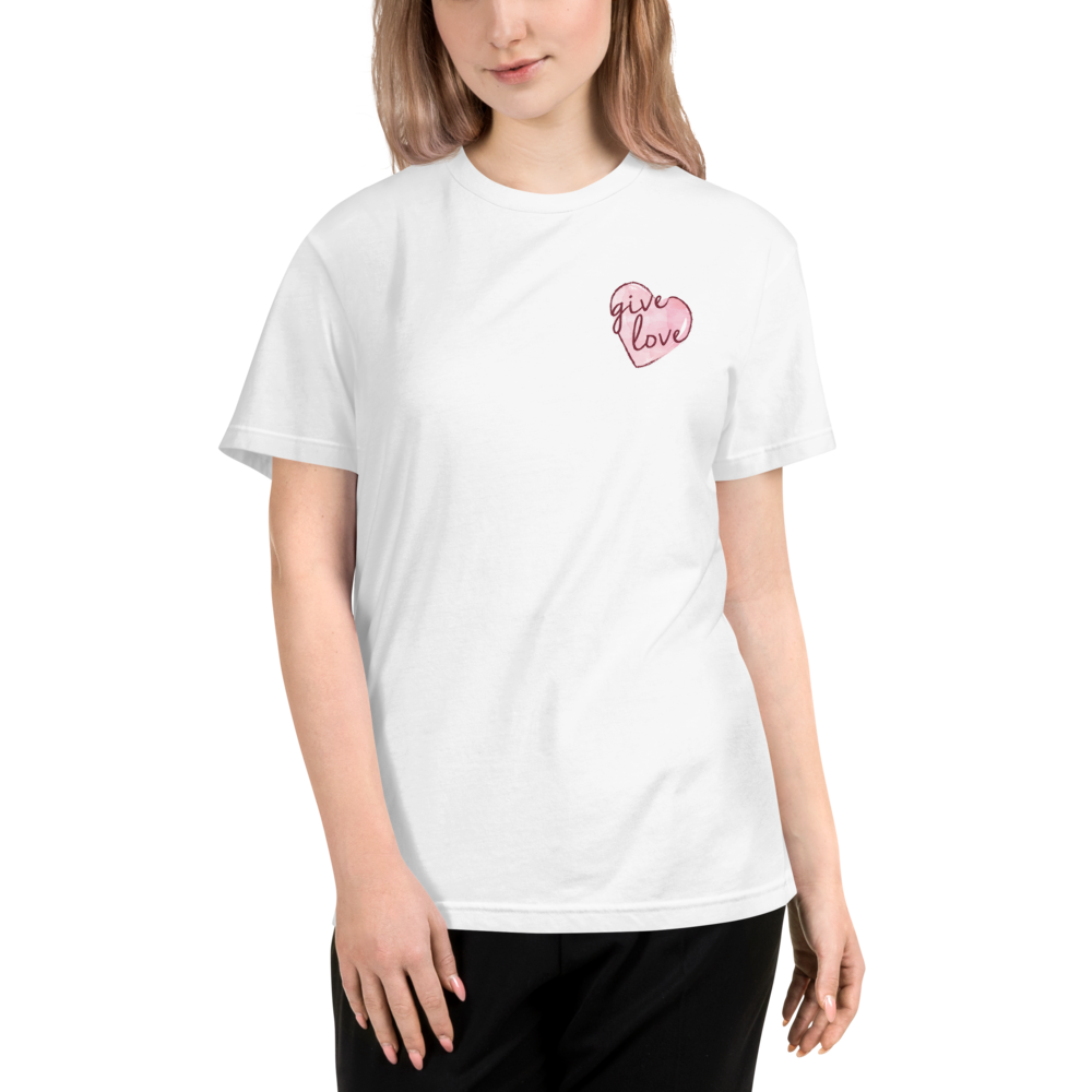 OVER THE HEART TEE | PINK