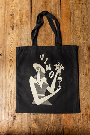 Load image into Gallery viewer, Bar Volo Vino Tote Bags