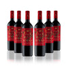 6 Pack Diablo Dark Red, Blend, 750cc