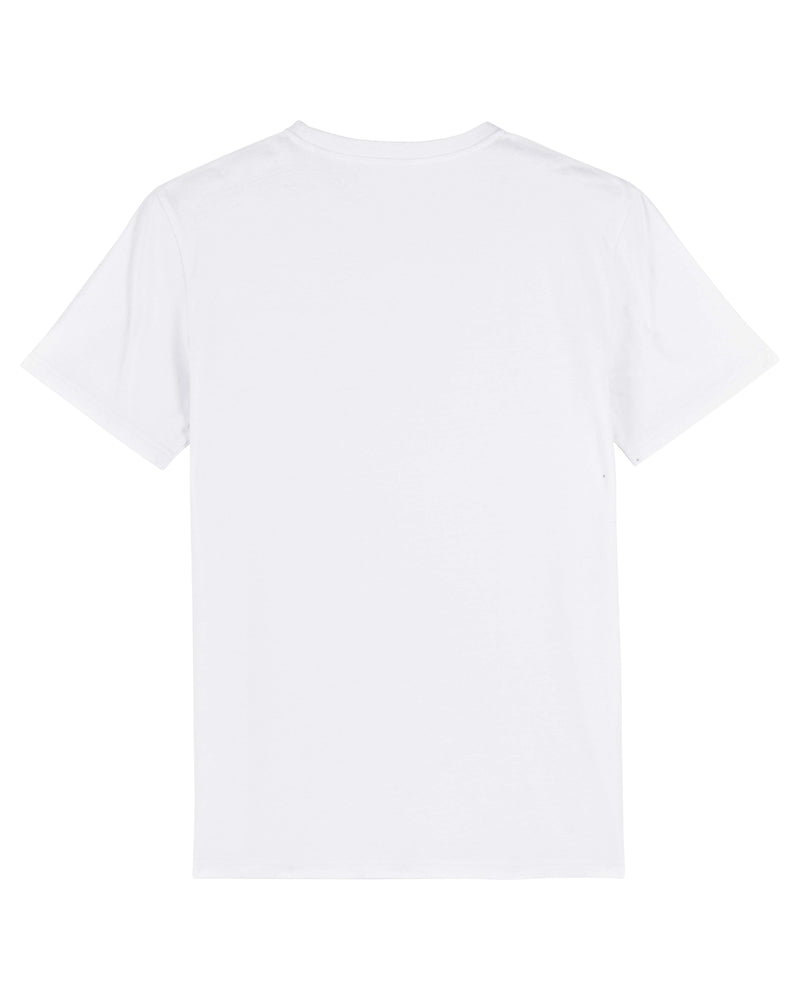 Mens White U | Ocean® 100% Organic Cotton T-shirt