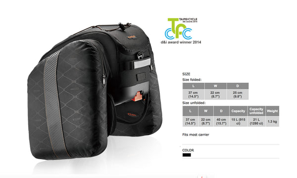 PakRak Commuter MultiMount Bag