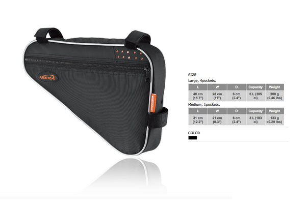 Ibera FB1 Triangle Frame Bag