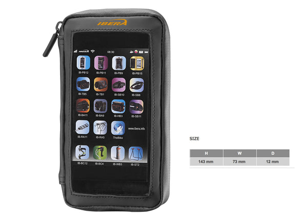 Handlebar-Mounted Phone Wallet (4-5 inch)