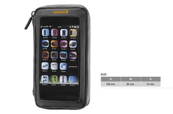 Stem-mounted Phone Wallet (5-5.8 inch)