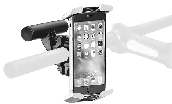 Handlebar-mounted Adjustable Phone Holder (4.3–5.8 inch)