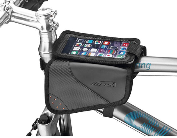 Top Tube Mini Panniers TB11 (with phone sleeve)