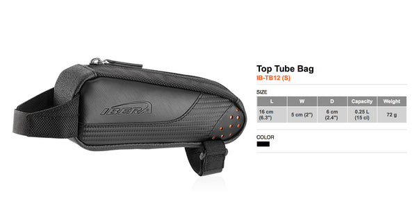 Top Tube Bag TB12 (S)