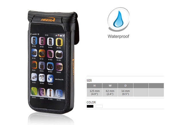 Handlebar-mounted Waterproof iPhone 5/5s/SE case