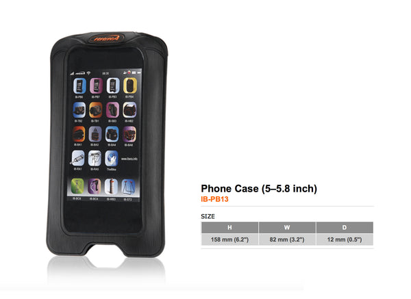 Stem-mounted Smartphone Case (5-5.8 inch)