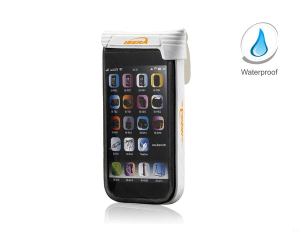 White PB16 Waterproof Smartphone case