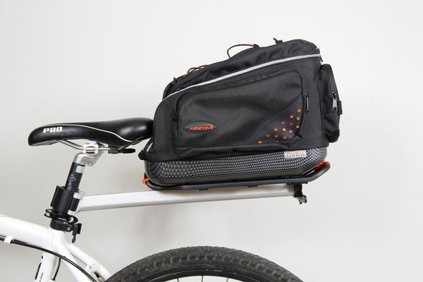 BA11 commuter bag on RA11 seat-post carrier