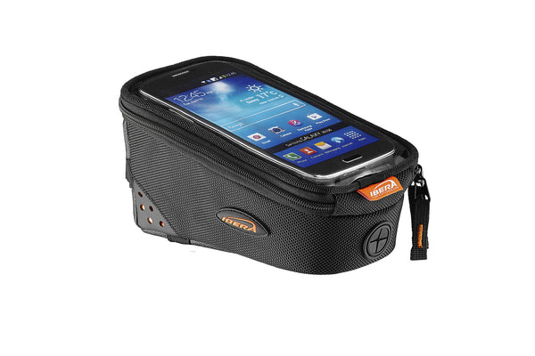"Ibera TB8 Top Tube Bag with Phone Sleeve (6"" screen size)"