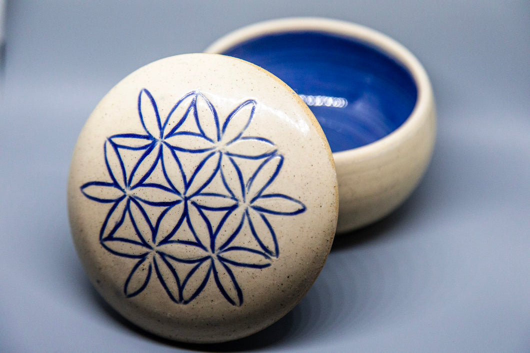 Flower of life Jar