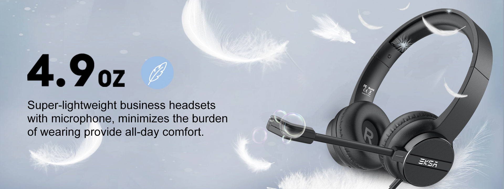 H12 Business Headset For Call