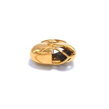 Load image into Gallery viewer, Capsule Crystal Ring - 24ct Gold Vermeil