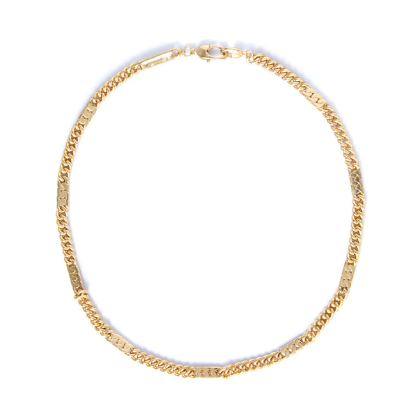 Power Chain Necklace - 18ct Gold-Plated Sterling Silver