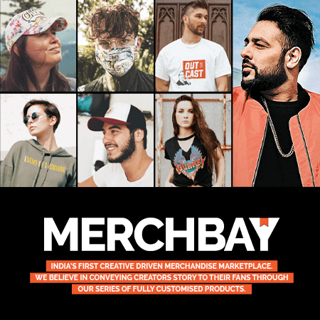 The Merch Bay-Official Merchandise Store of India's most loved artists