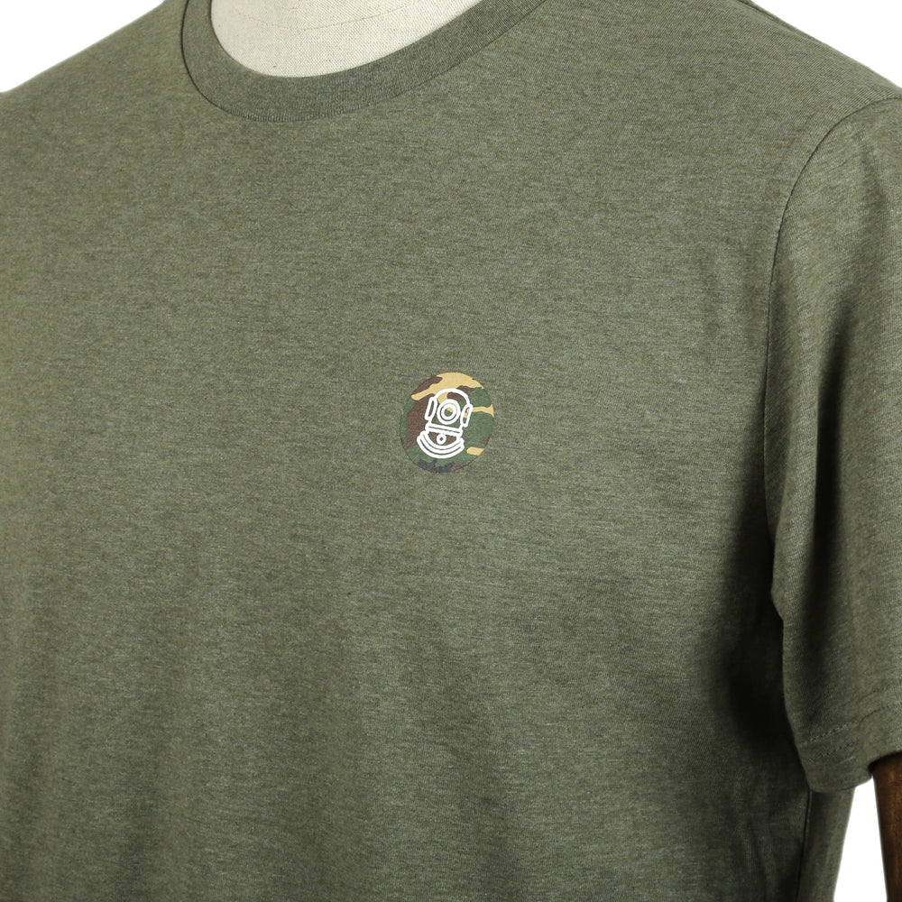 Load image into Gallery viewer, ICON TEE | Heather Khaki