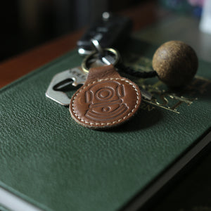 Load image into Gallery viewer, 'SUB X MISTY' Leather Key Ring