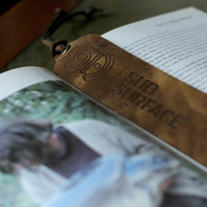 Load image into Gallery viewer, 'SUB X MISTY' Leather Bookmark