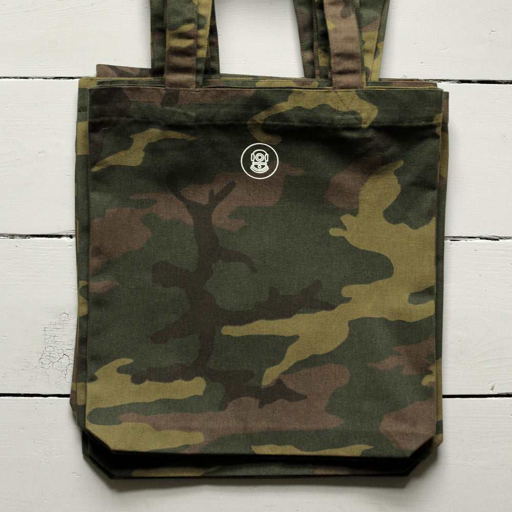 CANVAS HEAVY DUTY CAMO TOTE